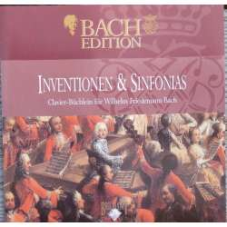 Bach: Inventions & Sinfonias. Pieter Jan Belder. 1 CD. Brilliant Classics
