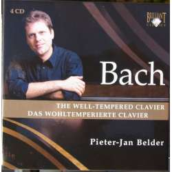 Bach: The Well-Tempered Clavier - Complete. Pieter Jan Belder. 4 CD. Brilliant Classics
