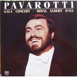 Pavarotti: Gala Concert in Royal Albert Hall. 1 LP. Decca. SXDL 7582
