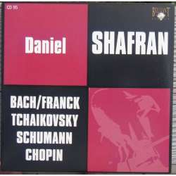 Bach: Suite nr. 3 for solo cello. & Franck: Cellosonate. Daniel Shafran. 1 CD. Russian Archives