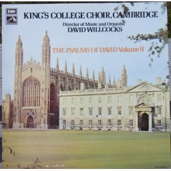 Davids salmer Vol. 2. King's College Choir, Cambridge. Willcocks. 1 LP. EMI. Nyt eksemplar