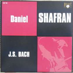 Bach: Suites nos. 2, 4, 5. for solo cello. Daniel Shafran. 1 CD. Russian Archives.