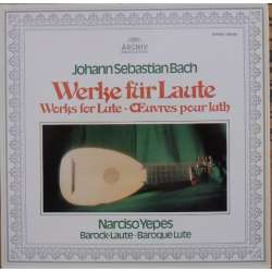 Bach: Suites for lute. Narciso Yepes. 1 LP. Archiv