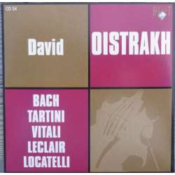 Bach: Sonater for 2 violiner og cembalo. David Oistrakh, Yampolski. 1 CD. Russian Archives