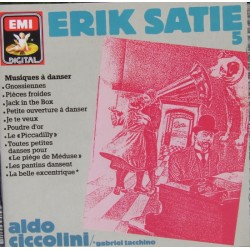 Satie: Gnossiennes, Jack in the box, Aldo Ciccolini. 1 CD. EMI