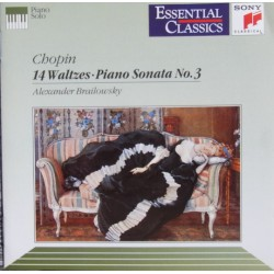 Chopin: 14 Waltzes + Piano sonata no. 3. Alexander Brailowsky. 1 CD. Sony