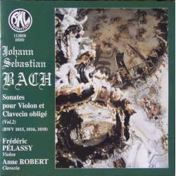 Bach: Sonate for violin og cembalo. Pelassy, Robert. 1 CD. BNL