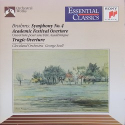 Brahms: Symphony no 4. + Academic festival overture. George Szell, Cleveland Orchestra. 1 CD. Sony