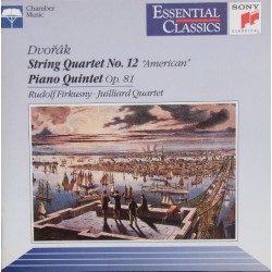 "Dvorak: String Quartet no.12. ""American"" + Piano Quintet Op. 81. Firkusny, Julliard Quartet. 1 CD. Sony"