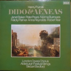 Purcell: Dido and Aeneas. Baker, Pears, Tear. Steuart Bedford. 1 LP. Decca