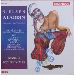 Carl Nielsen: Aladdin. Gennady Rozhdestvensky, Danish Radio SO. 1 MC - Tape. Chandos