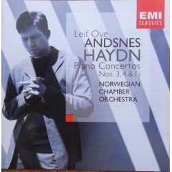 Haydn: Piano Concertos nos. 3, 4, 11. Leif Ove Andsnes, Norwegian Chamber Orchestra. 1 CD. EMI