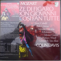 Mozart: Figaros Bryllup + Don Giovanni + Cosi fan Tutte. Colin Davis. 12 LP, Philips