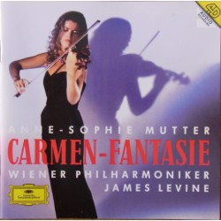Carmen Fantasie. Anne-Sophie Mutter, WPO, James Levine. 1 CD. DG