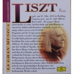 Liszt: Piano Concerto no. 1. Martha Argerich, Claudio Abbado. + Sonata in B-minor. Lazar Berman. 1 CD. + 1 book. DG
