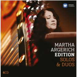 Martha Argerich Edition. Solo & Duos. 6 CD. Warner