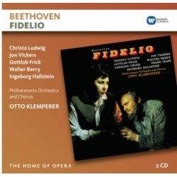 Beethoven: Fidelio. Ludwig, Vickers. Otto Klemperer. 2 CD. Warner