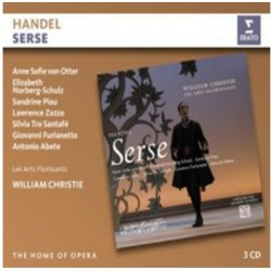 Handel: Serse. von Otter, Zazo, William Christie, Les Arts Florissants. 3 CD. Erato
