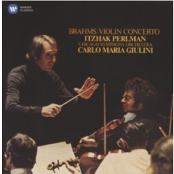 Brahms: Violin Concerto. Perlman, Giulini, Chicago SO. 1 CD. Warner