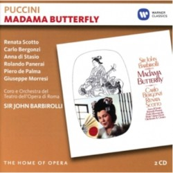 Puccini: Madama Butterfly. Barbiroli. Scotto, Bergonzi. 2 CD. Warner