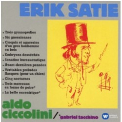 Erik Satie: Gymnopedies, Gnossiennes. Aldo Ciccolini. 1 CD. Warner
