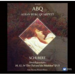 Schubert: String Quartet nos. 10, 12, 14, 15. Alban Berg Quartet. 2 CD. Warner
