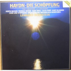 Haydn: The Creation. Blegen, Moser, Moll, Popp, Ollmann, Leonard Bernstein. 2 CD. DG