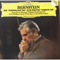 Bernstein: Halil, Medidation from Mass, on the Waterfront, Symphonic Suite. Bernstein, Israel PO. 1 CD. DG