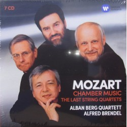 Mozart: Late String Quartets + Chamber music. Alban Berg Quartet, 7 CD. Warner