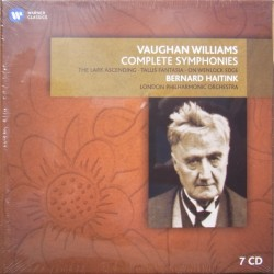 Vaughan-Williams. Symphonies nos. 1-9. Bernard Haitink, LPO. 7 CD. Warner