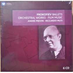 Prokofiev: Romeo and Juliet, Alexander Nevsky, Andre Previn. 6 CD. Warner