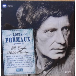 Louis Fremaux: The Complete CBSO Recordings. 12 CD. Warner