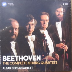 Beethoven: Complete string quartets. Alban Berg Quartet. 7 CD. Warner