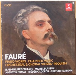 Faure: Piano Works, Chamber Music, Orchestral Works & Requiem. Collard, Plasson. 12 CD. Warner