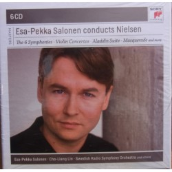 Nielsen: Symfoni nr. 1-6, Esa-Pekka Salonen, Sveriges Radio SO. 6 CD. Sony