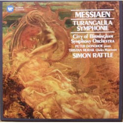 Messiaen: Turangalia Symphonie. Simon Rattle, CBSO. 1 CD. Warner