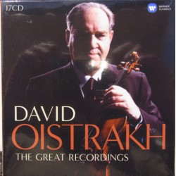 David Oistrakh. The Complete EMI Recordings. 17 CD. Warner