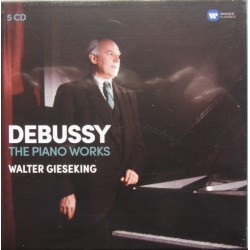 Debussy: Complete piano works. Walter Giseking. 5 CD. Warner
