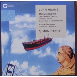 John Adams: Harmonielehre. The Chairman Dances. Simon Rattle, CBSO. 1 CD. Warner