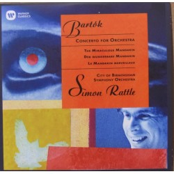 Bartok: Concerto for Orchestra. CBSO. Simon Rattle. 1 CD. Warner