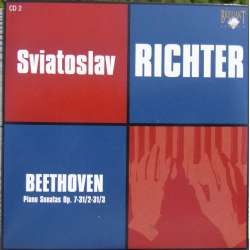 Beethoven: Klaversonate nr. 4, 17, 18. Sviatoslav Richter. 1 CD. Russian Archives