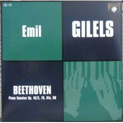 Beethoven: Piano Sonatas nos. 7, 25, 26, 27. Emil Gilels. 1 CD. Russian Archives