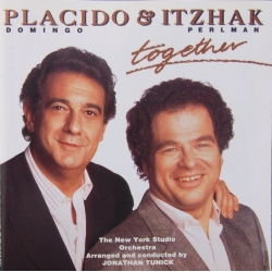 Placido Domingo and Itzhak Perlman: Together. 1 CD. Warner
