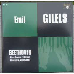 Beethoven: Klaversonate nr. 8, 14, 23. Emil Gilels. 1 CD. Russian Archives