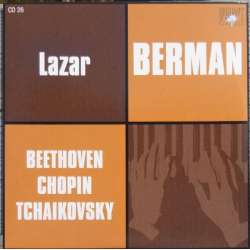 Beethoven: Klaversonate nr. 14 & 23. + Chopin & Tchaikovsky. Lazar Berman. 1 CD. Russian Archives