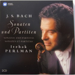 Bach: Sonatas and Partitas. Itzhak Perlman. 2 CD. Warner