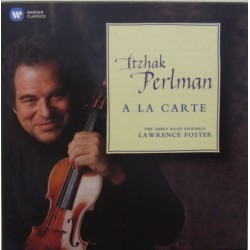 Itzhak Perlman: A la Carte. The Abbey Road Ensemble. Lawrence Forster. 1 CD. Warner