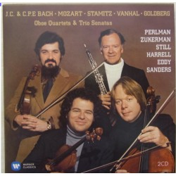 Itzhak Perlman: The Baroque album. Mozart, Stamitz, Vanhal, CPE. Bach. 2 CD. Warner