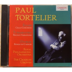Elgar: Cello Concerto. & Tchaikovsky Rococo Variations. Paul Tortelier, RPO, Sir Charles Groves. 1 CD. Carlton