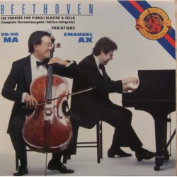 Beethoven: Cello Sonatas nos. 1 - 5. Yo Yo Ma, Emanuel Ax. 2 CD. Sony